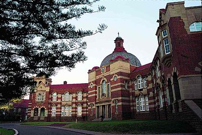 Pretoria Boys' High School facade