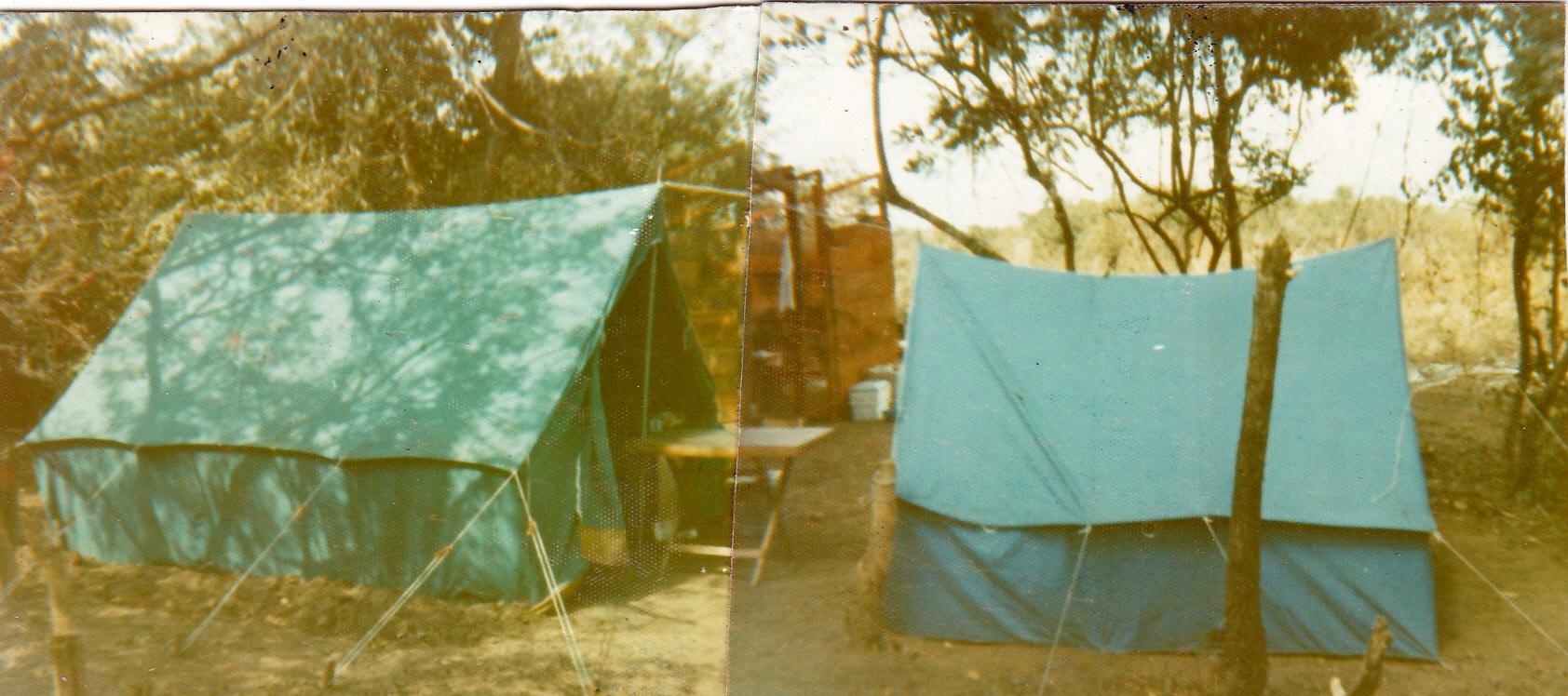 A Tent In Inhaminga Peter J Earle