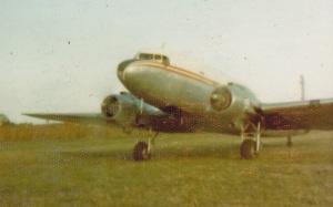 AOC's Dacota brining jet-fuel to Marromeu 1973.