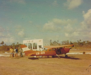 Ibo Island airstrip - 1973