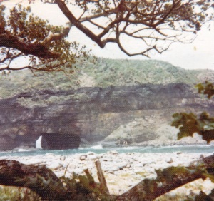 Hole-in-the-Wall, Transkei.