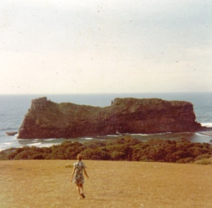 Joey Barichievy at Hole-in-the-Wall, Transkei 1973.