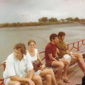 Will Bond, Winifred, John Barnes, Spine B.J. van Niekerk