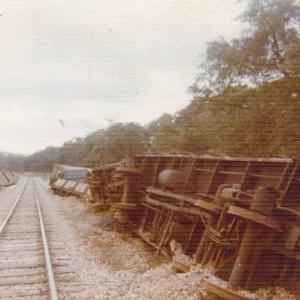 Landmine aftermath.