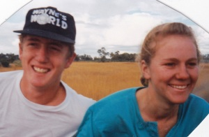 Tim & Haley, July 1992
