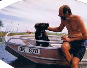 Mack aboard OK878