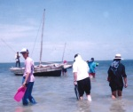 Ibo 1993-boarding dhow