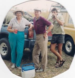Marjorie, Leo & Steve Empson