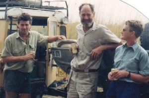 Steve Empson, Peter & Sheila Earle