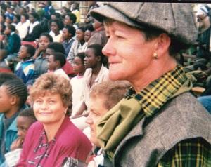 Magda & Vince MacAskill, with Sheila Earle