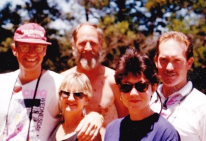 J P Rossouw, Annie, PJE, Allison & Andy Dry 1994
