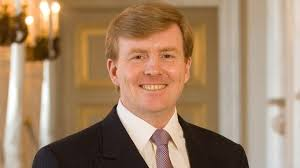 Then Crown Prince Willem-Alexander of the Netherlands