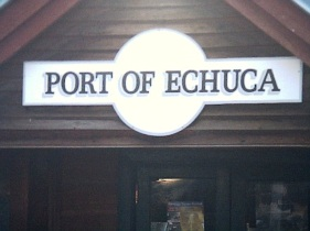 Echuca port sign