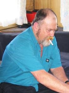 Brian at Erica 2004