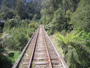 Walhalla railbridge