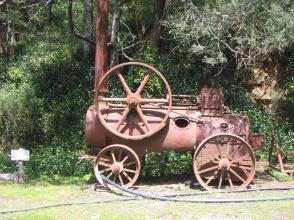 Walhalla steam engine
