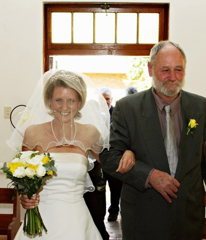 Nicci wed PJE & bride