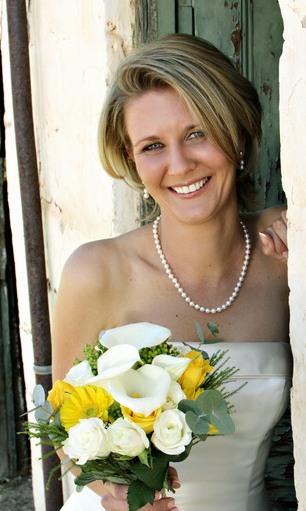 Nicci wed portrait