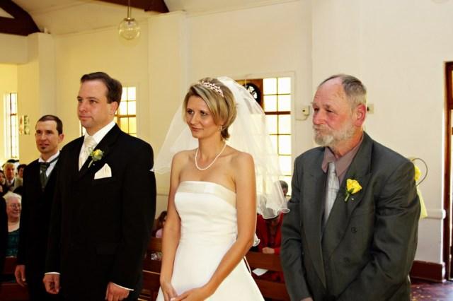 Nicci wed vows