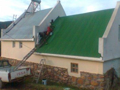Plot 123-Home roof paint